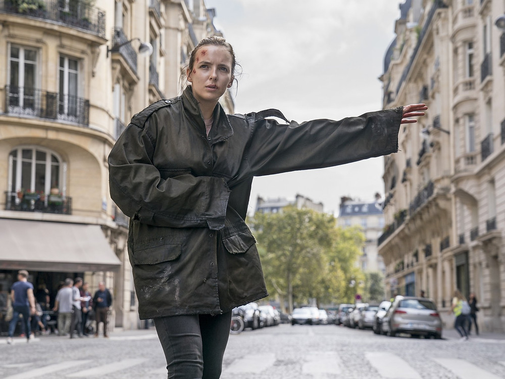 Villanelle really needs to flee Paris