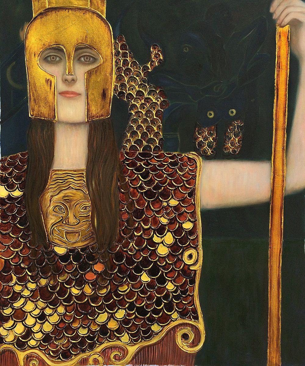 Gustav Klimt, Pallas Athene, 1898
