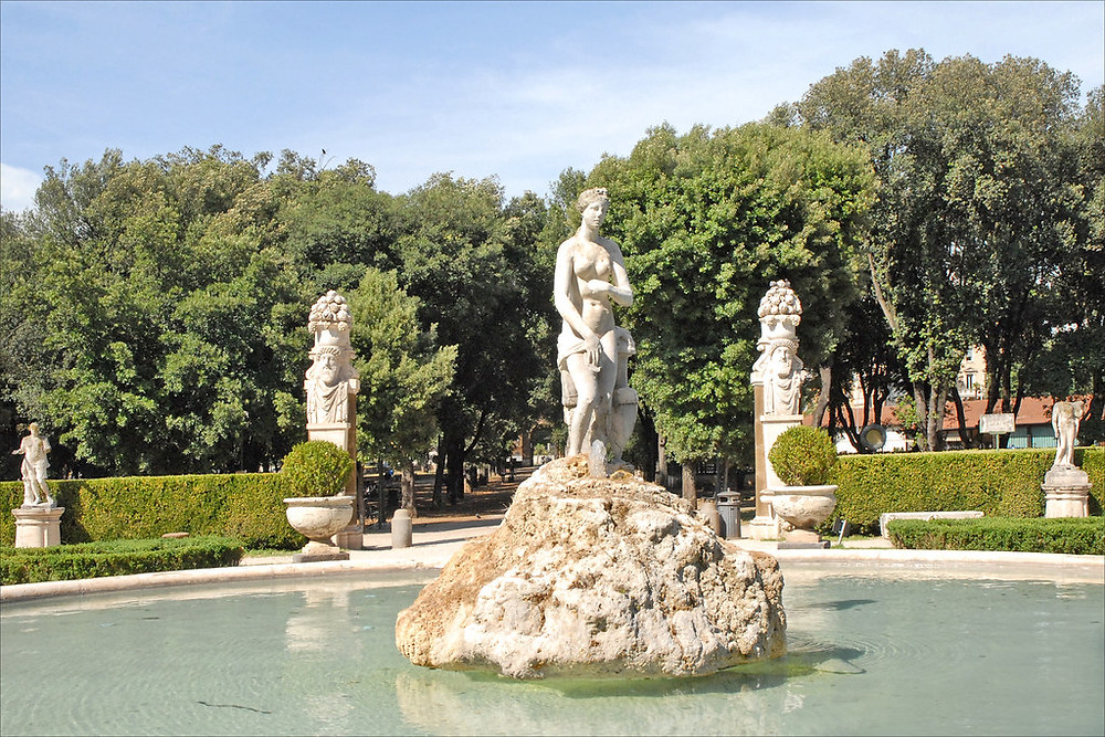 Venus Fountain in the Borghese Gardens
