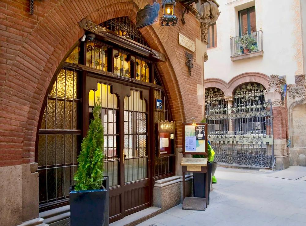 Casa Marti, which houses the restaurant Quatre Gats