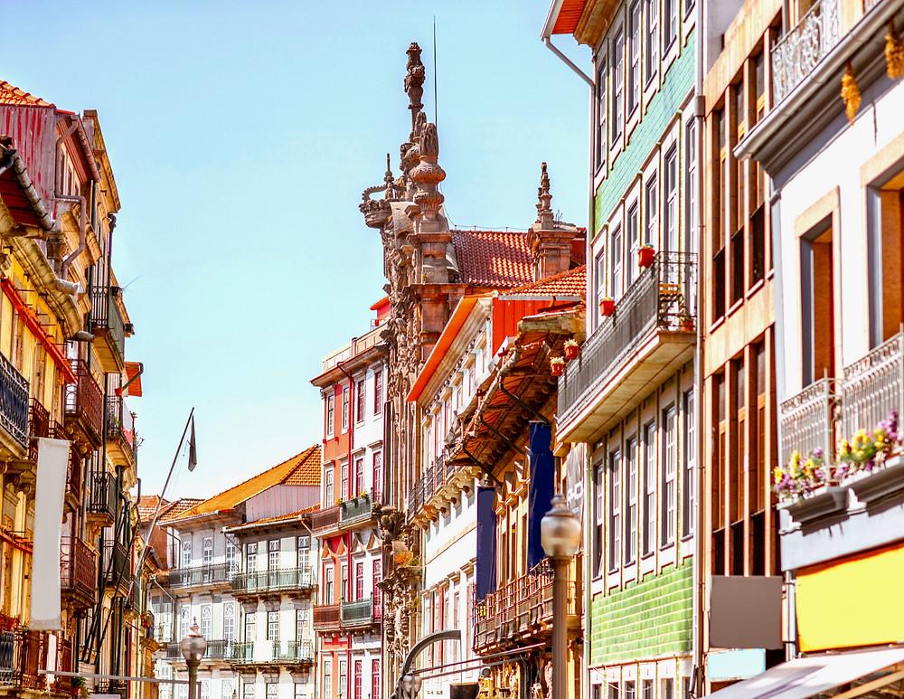 facades in Porto