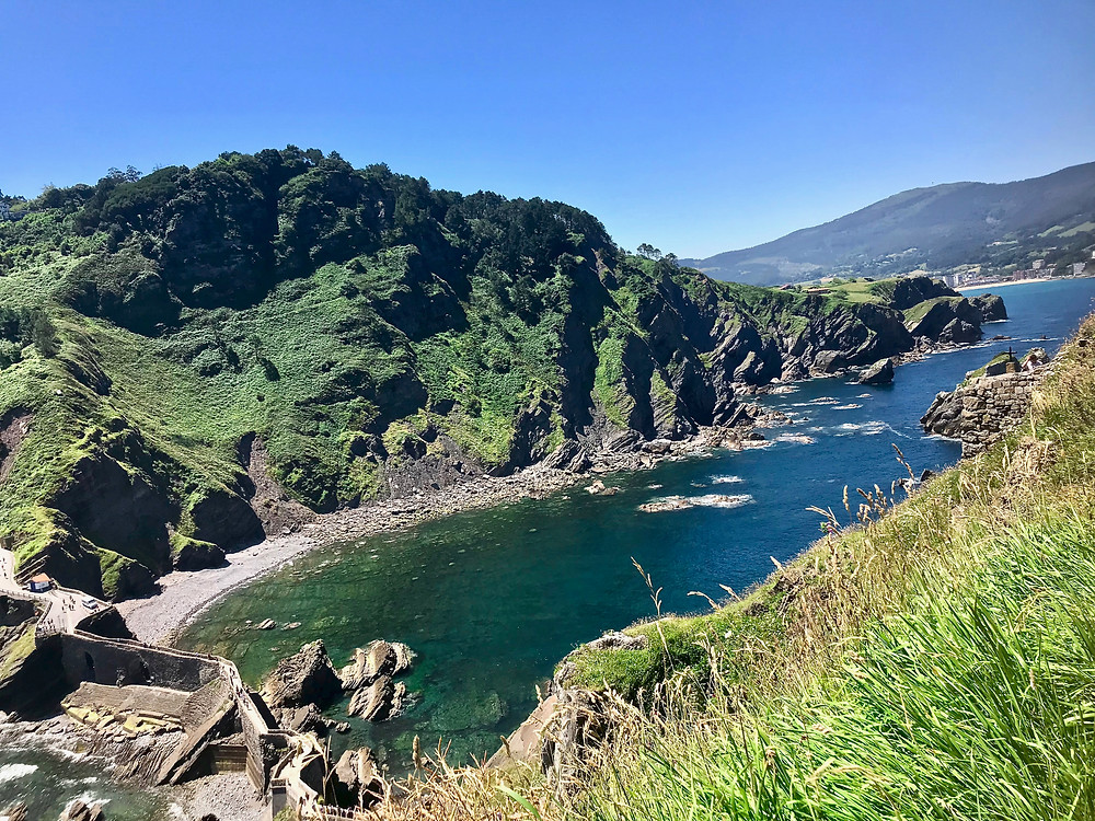 the ancient bridge of San Juan de Gaztelugatxe
