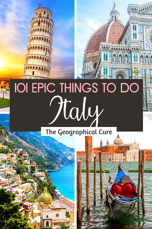Bucket List Wish List for Italy