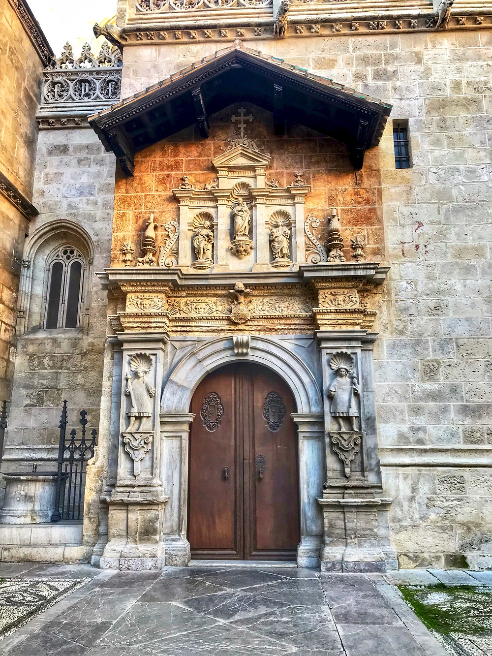 entry to the Capilla Real, the Royal Chapel of Granada