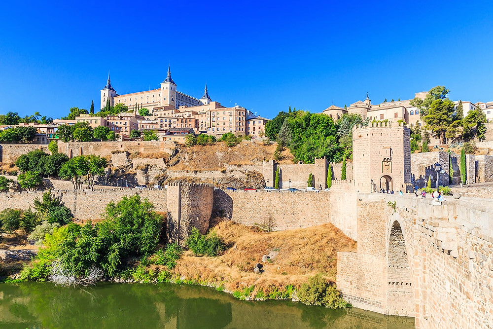 Toledo, topped by the Alcazar