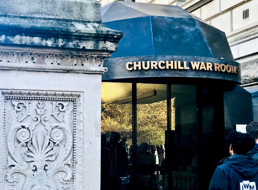 Be A Glow Worm: The Churchill War Rooms in London