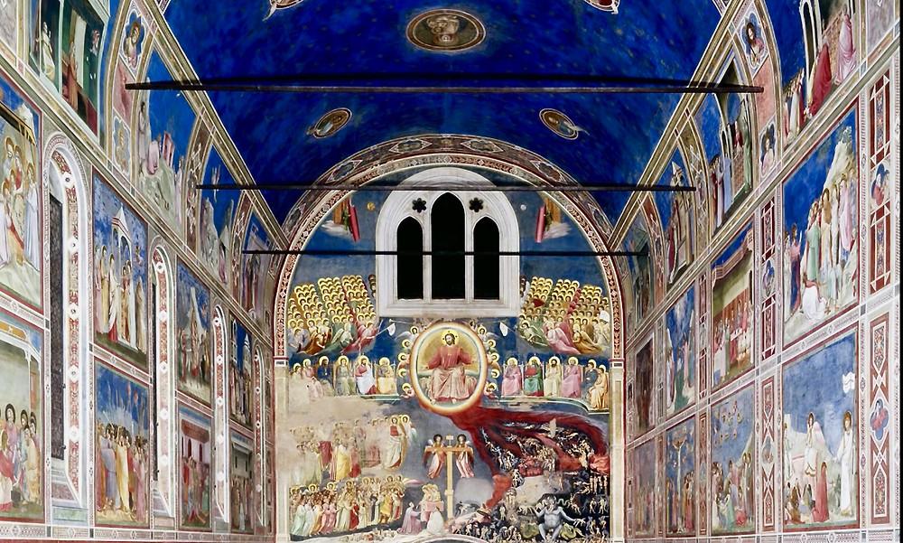 Giotto frescos in Padua's Scrovegni Chapel