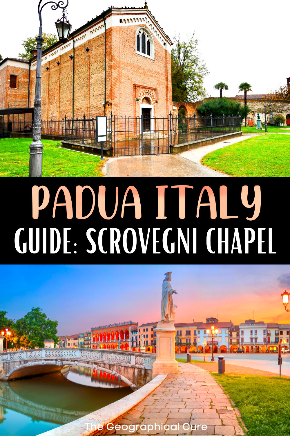 guide to the stunning Scrovegni Chapel in Padua Italy, with masterpieces by Giotto