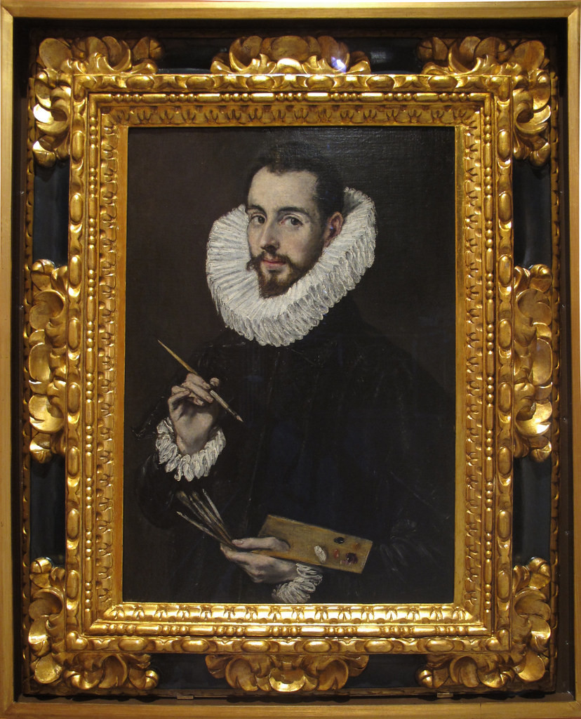 El Greco, Portrait of his son Jorge Manuel, 1600-05