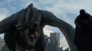 Jon Snow meets Dragon at Dragonstone