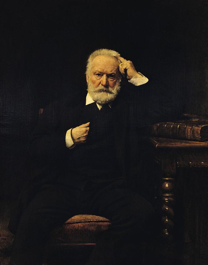 Portrait of Victory Hugo, Léon Bonnat, 1879