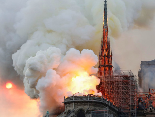 Notre Dame Burned and I Cried