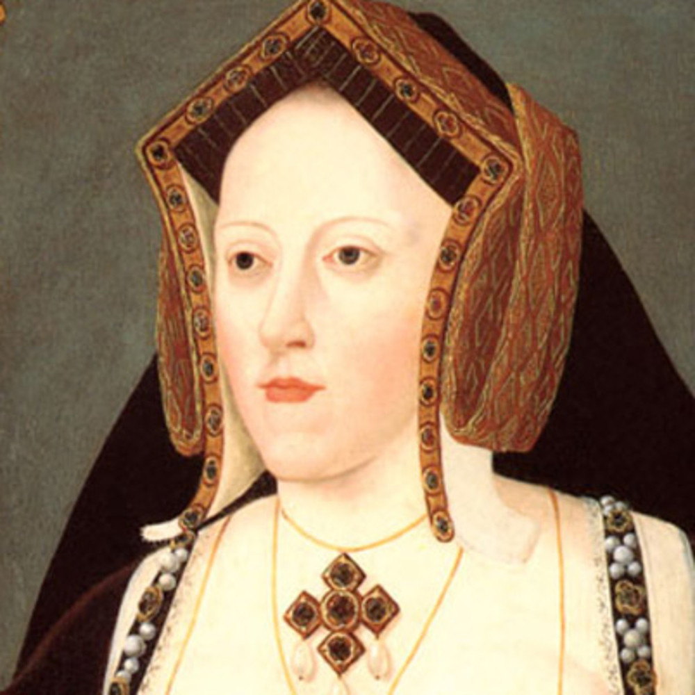 Portrait of Catherine of Aragon, Henry's first wife