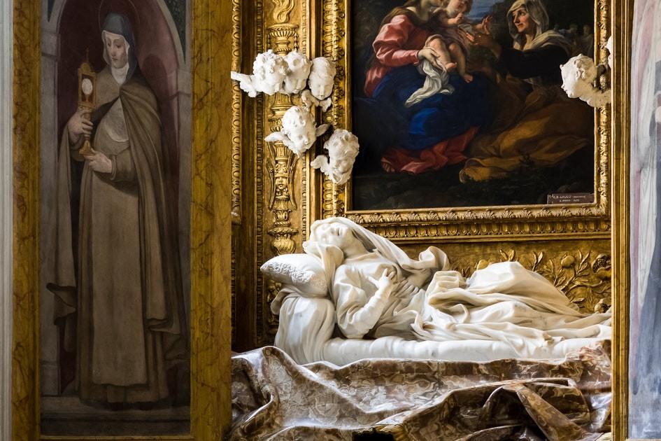 Bernini, Blessed Ludovico Albertoni, 1671-74
