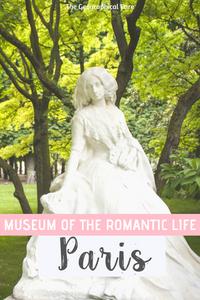 guide to visiting the Musee de la Vie Romantique, a Paris hidden gem in the 9th arrondissement