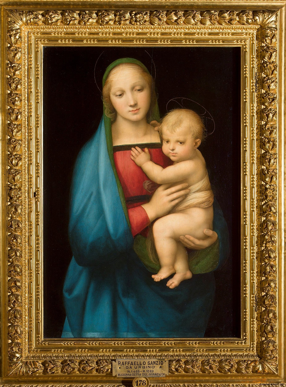 another Raphael madonna in the Pitti Palace