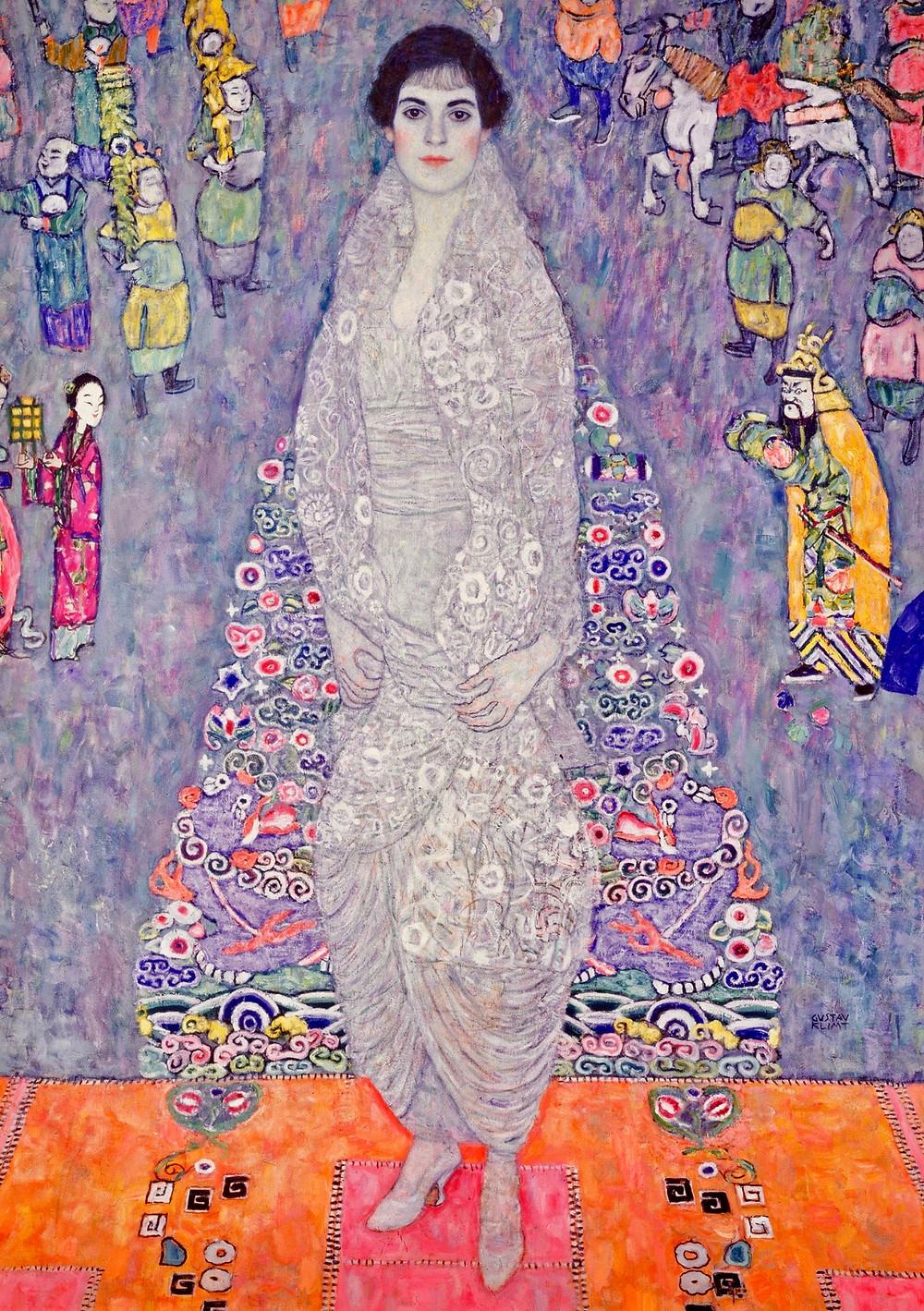 Klimt, Portrait of Elisabeth Lederer, 1900-18 -- at the Neue Gallery