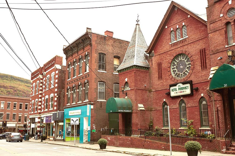 quaint town of Brattleboro