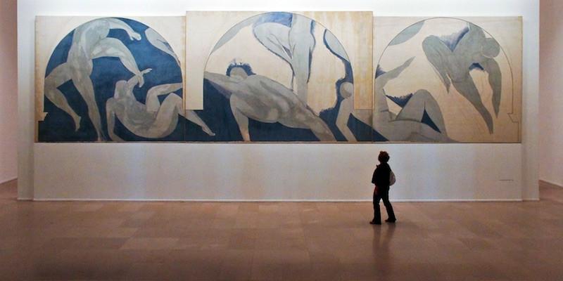 La Danse Inachevée by Henri Matisse, photo by Mark Craft