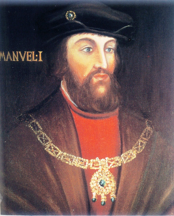 16th century portrait of King Manuel I by an unknown artist