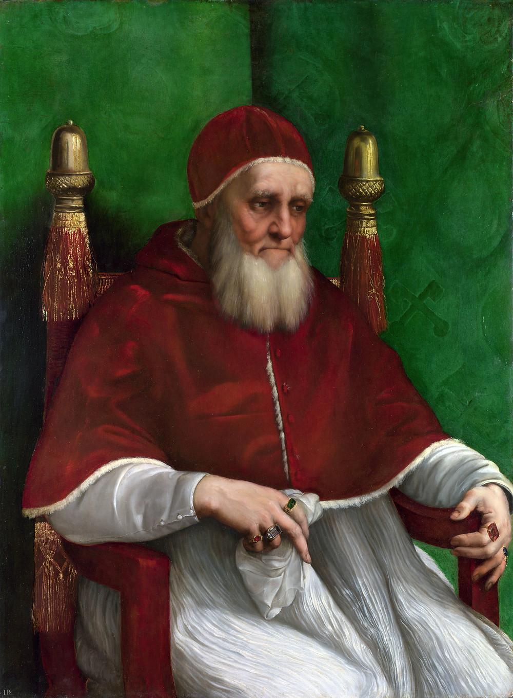 Raphael's Portrait of Julius II