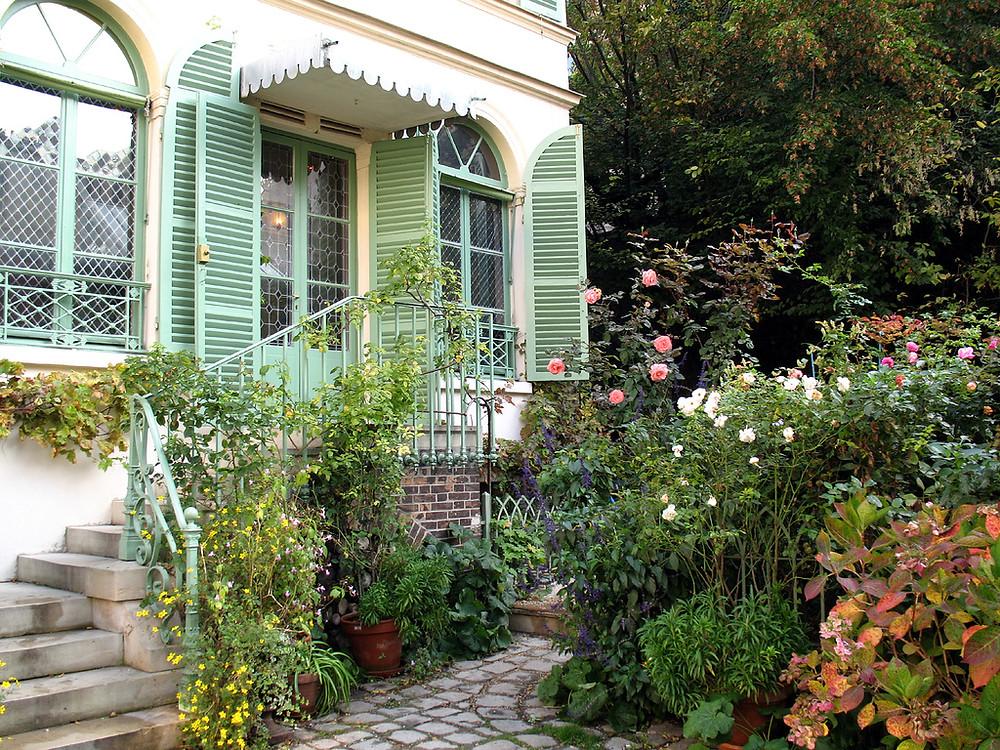The Musee de la Vie Romantique in the Nouvelle Athènes neighborhood of Paris