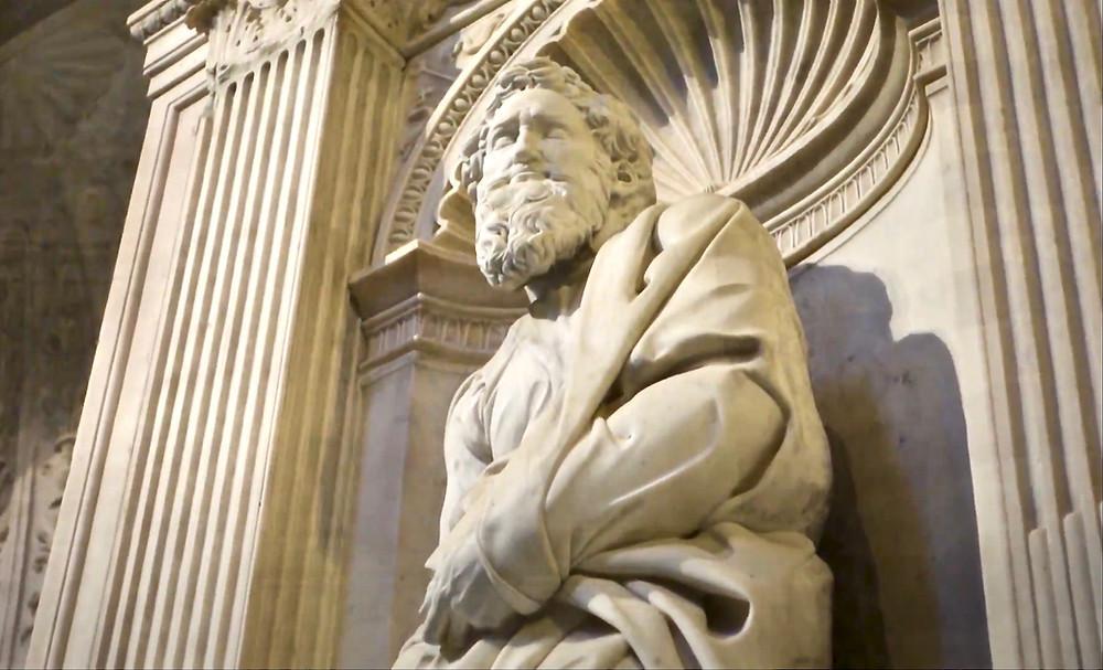 Michelangelo, St. Paul, 1501-03