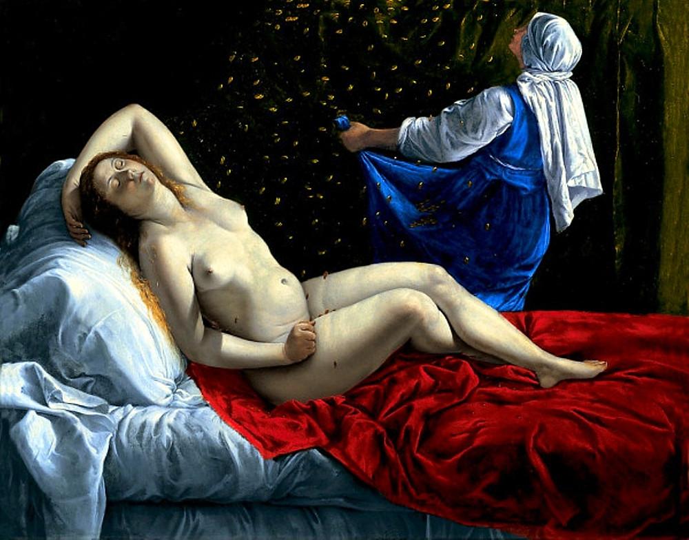 Artemisia Gentileschi, Danae, 1612