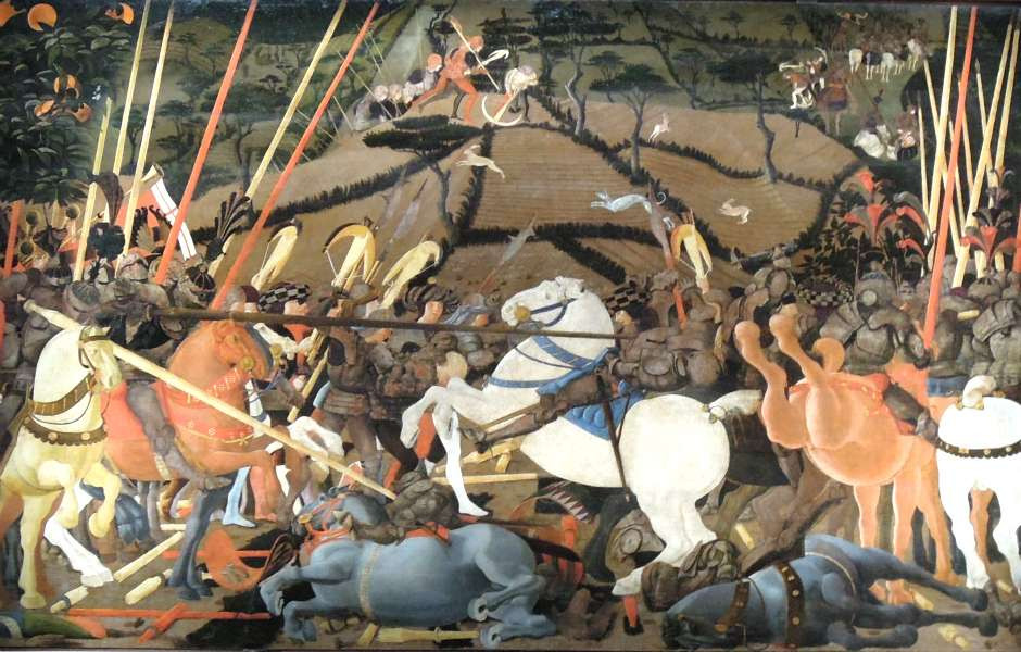 Paolo Uccello, Battle of San Roman, 1438