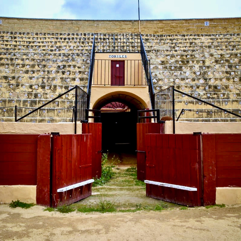 an entry to the Plaza de Toros, the bullring in Osuna Spain