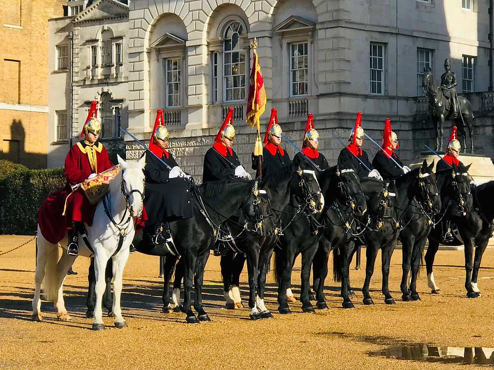 Horse Guards Parade in Westminster
