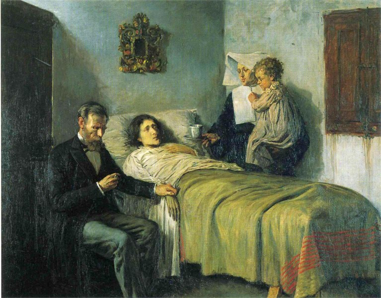 Picasso, Science and Charity, 1897