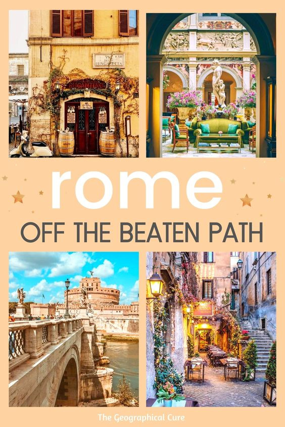 Ultimate Guide to Hidden Gems in Rome