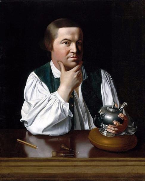 Jonathan Singleton Copley, Portrait of Paul Revere, 1768