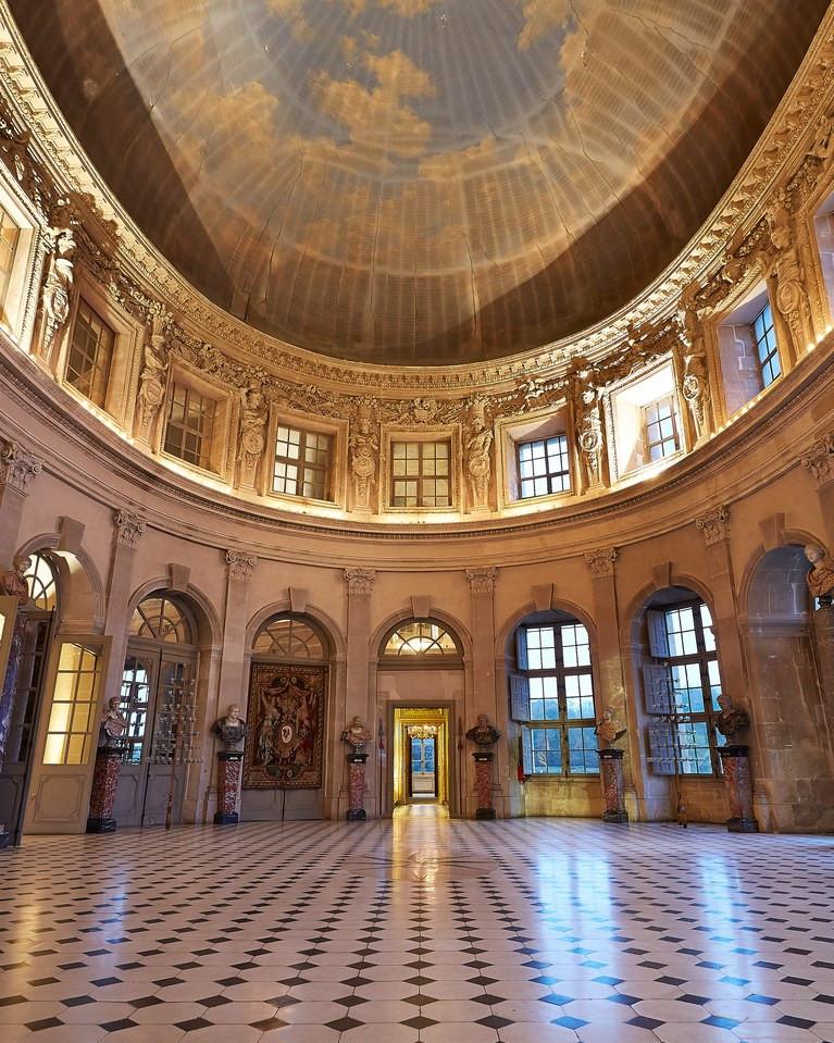 the Grand Salon of Vaux-le-Vicomte