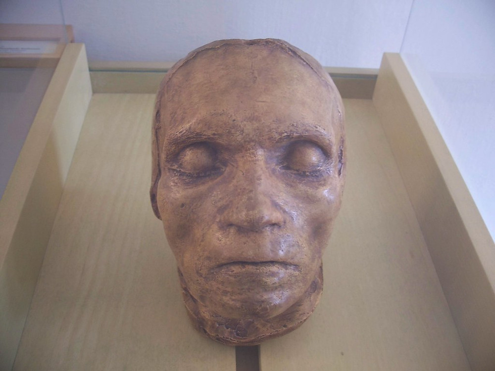death mask at Beethoven Museum