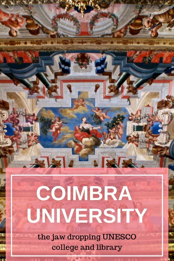 Coimbra University in Central Portugal