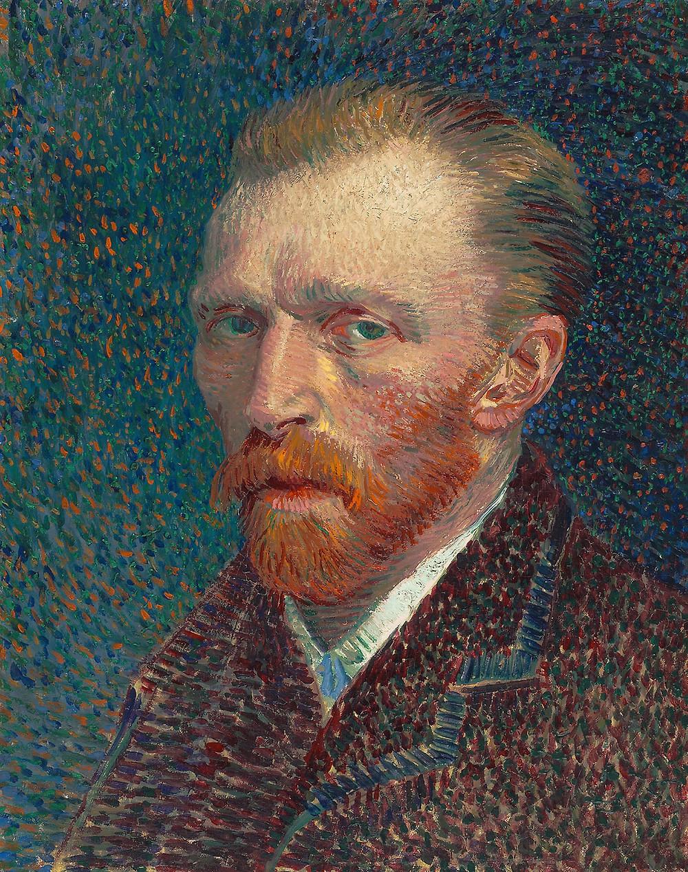 Van Gogh, Self Portrait, 1887