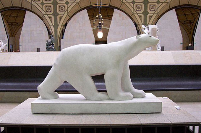 François Pompon, Polar Bear, 1923-33