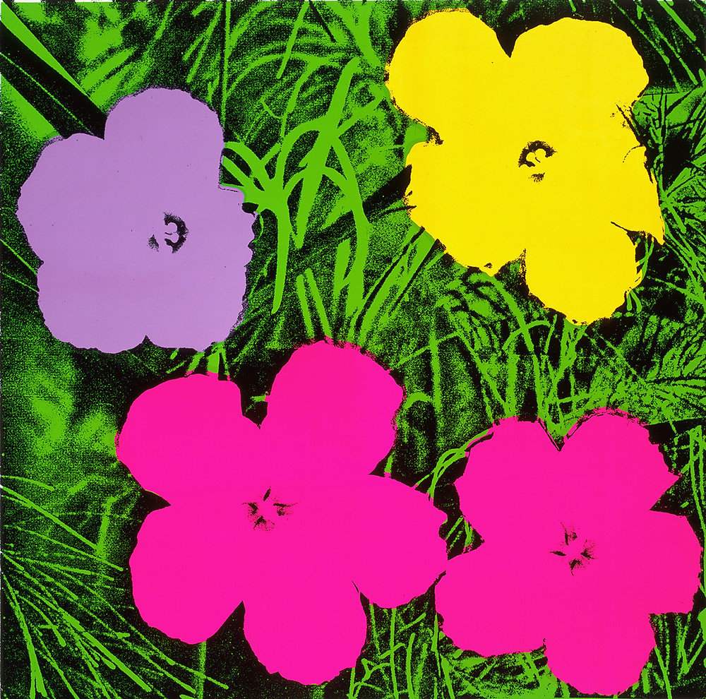 Andy Warhol, Flower series, 1964