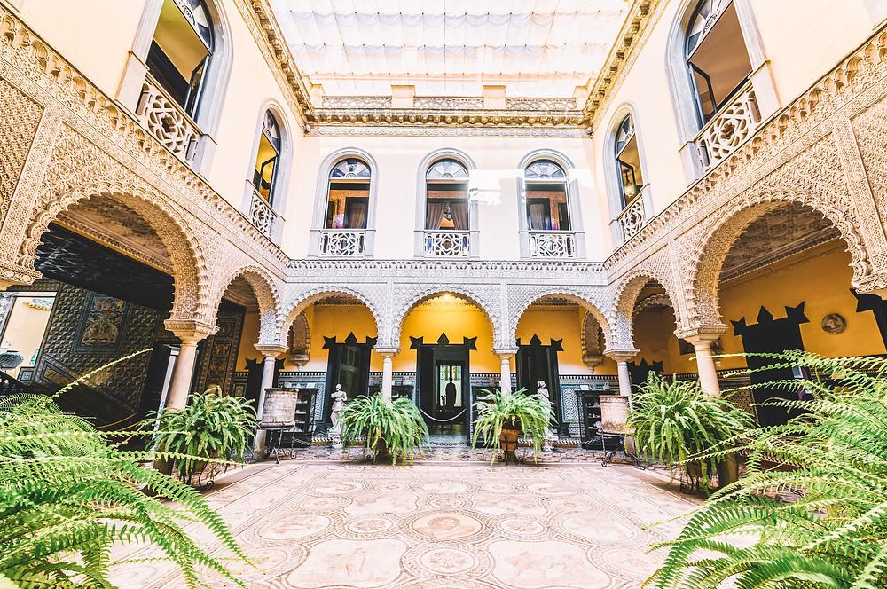 courtyard of Lebrija Palace