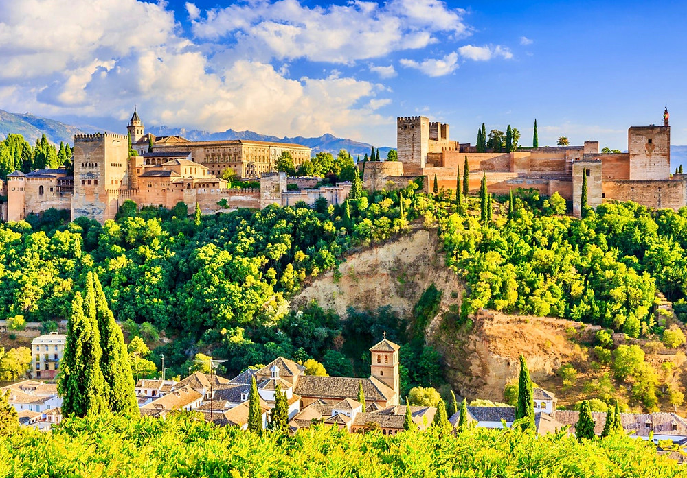 the mighty Alhambra in Granda Spain