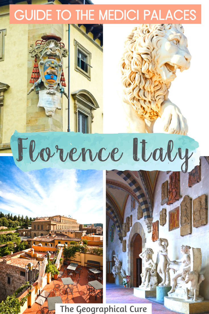 Guide to the Medici Palaces in Florence Italy