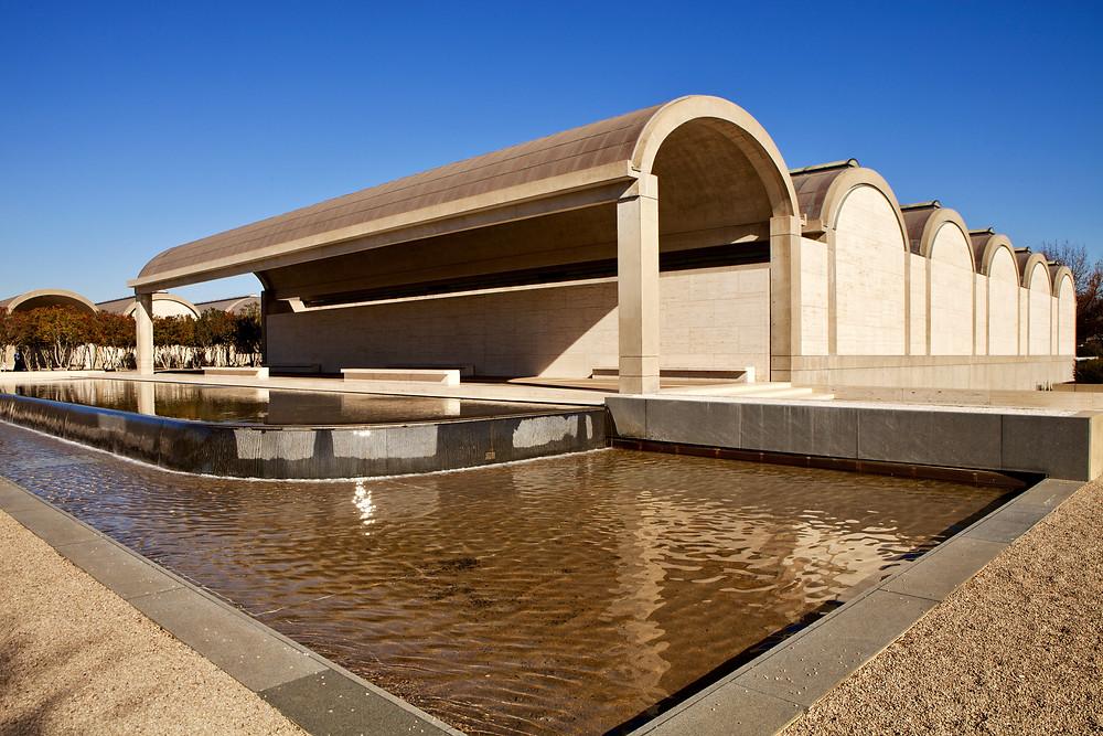 Kimbell Art Museum in Texas
