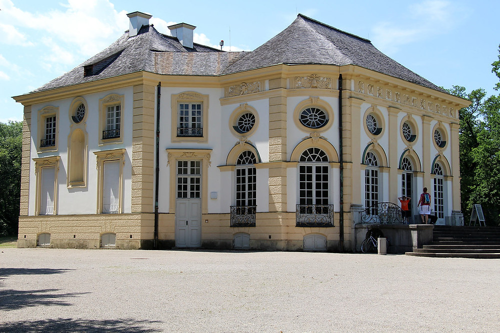 Badenburg, the royals'  private bathing house