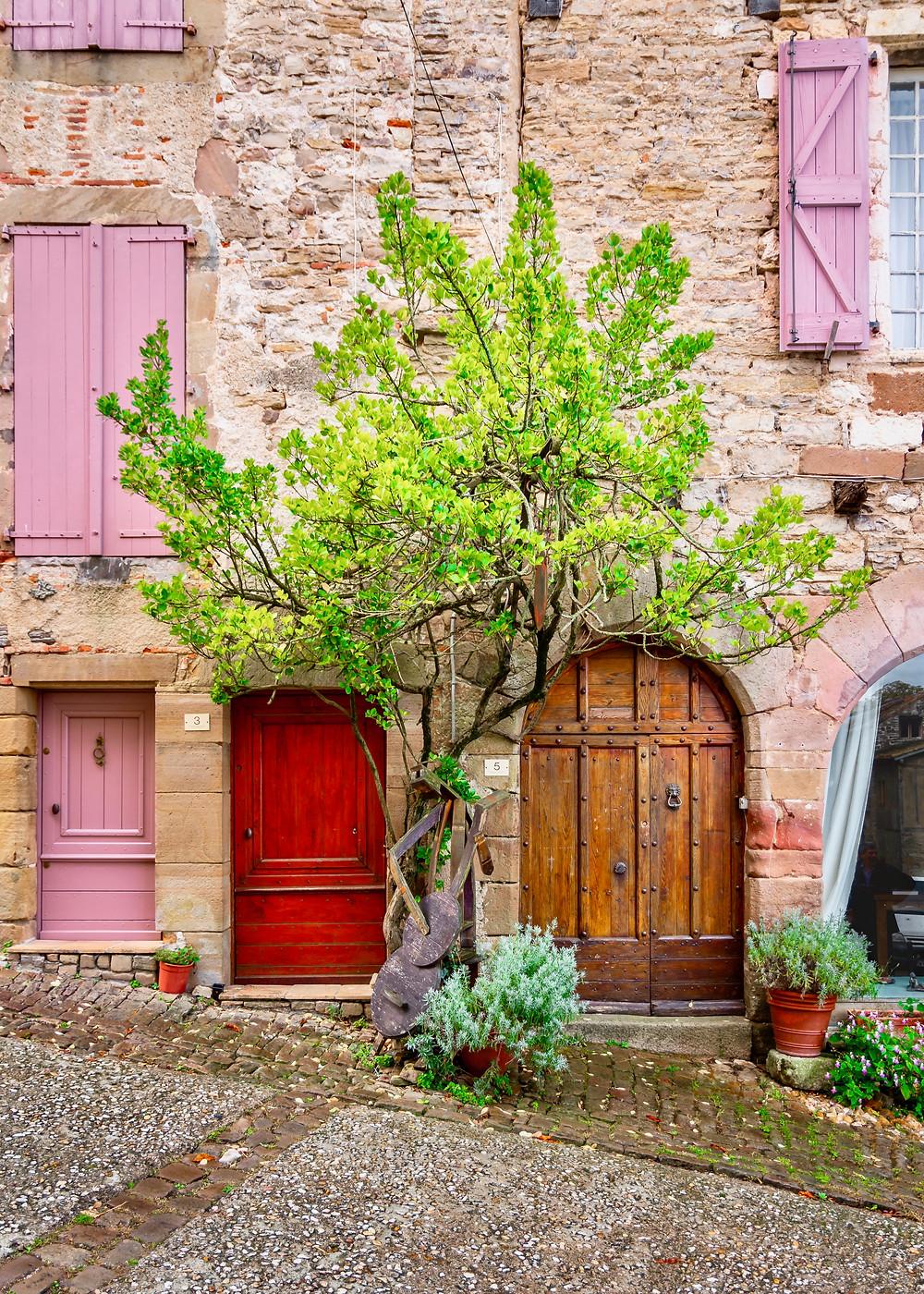 pretty homes in Cordes-sur-Ciel France