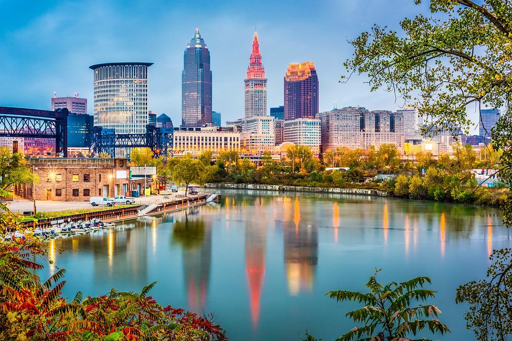 cityscape of Cleveland