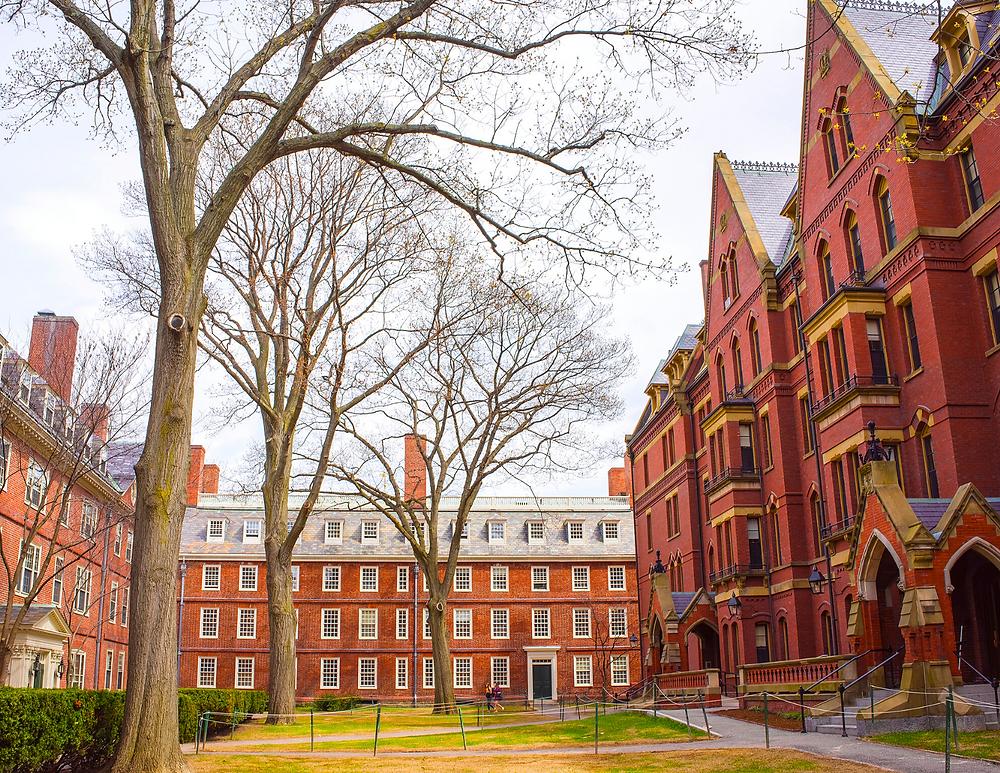 Harvard Square, an iconic destination in Cambridge