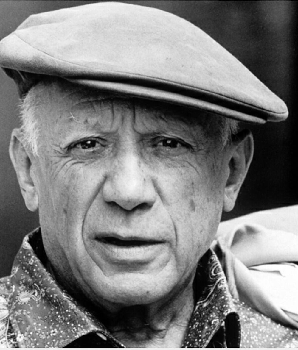 Pablo Picasso in 1962