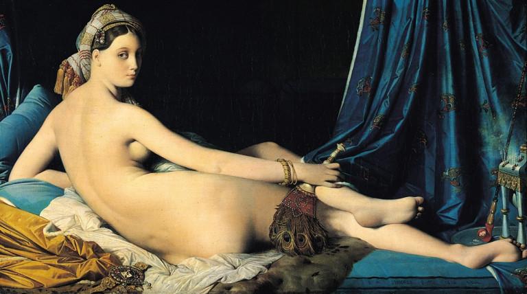 Grande Odalisque, Jean-Auguste-Dominique Ingres, 1814